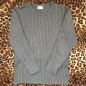 Official Vintage Playboy Pinstripe Bunny Sweater